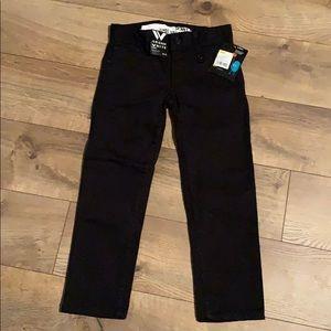 Boys size 5 Shaun White skinny jeans NWT black